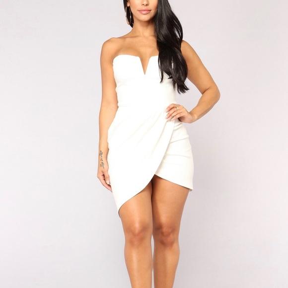 3639c6499c8ce Fashion Nova Dresses | Nwot Fn Asymmetrical Mini Dress | Poshmark